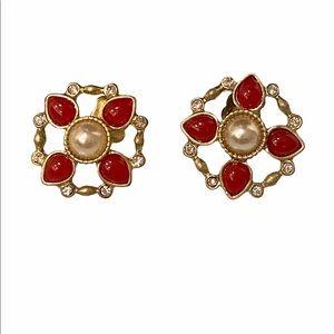 🚨4/$25🚨Vintage Pearl earrings EUC